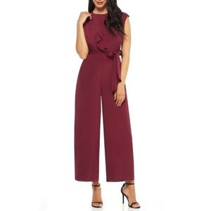 🆕️London Times Jumpsuit in Featherweight Crepe.